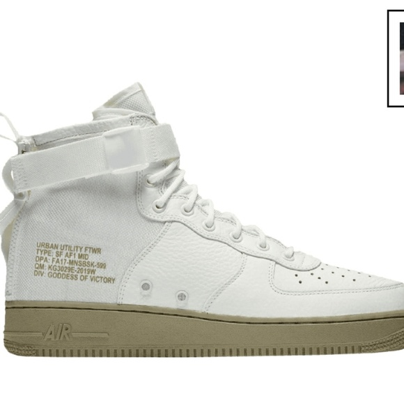 info for a6ee4 3f8fd Nike Men SF AF1 mid basketball shoe